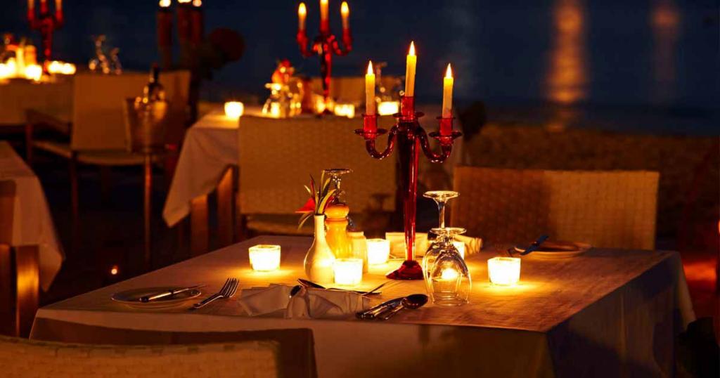Candlelight Dinner -  Places to Visit in Dehradun & Mussoorie – Mussoorie Honeymoon Hotel Package
