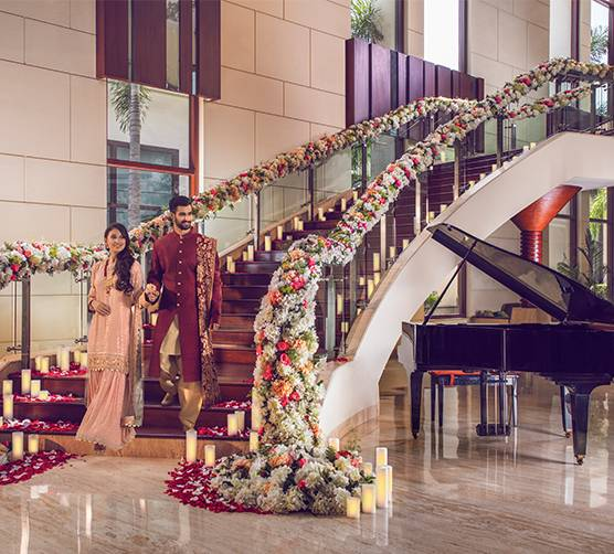 Engagement in Jaypee Hotel